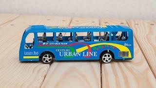 Машинки мультфильм - Мир машинок - 104 серия: Автобус, эвакуатор. Развивающий мультик для детей.