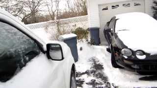 Snowy Cold Starts: 2012 Pilot & 2009 Prius