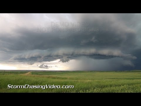6/24/2015 Spearfish, SD Severe Hail And Flash Flooding B-Roll