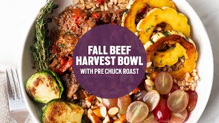Fall Harvest Beef Bowl