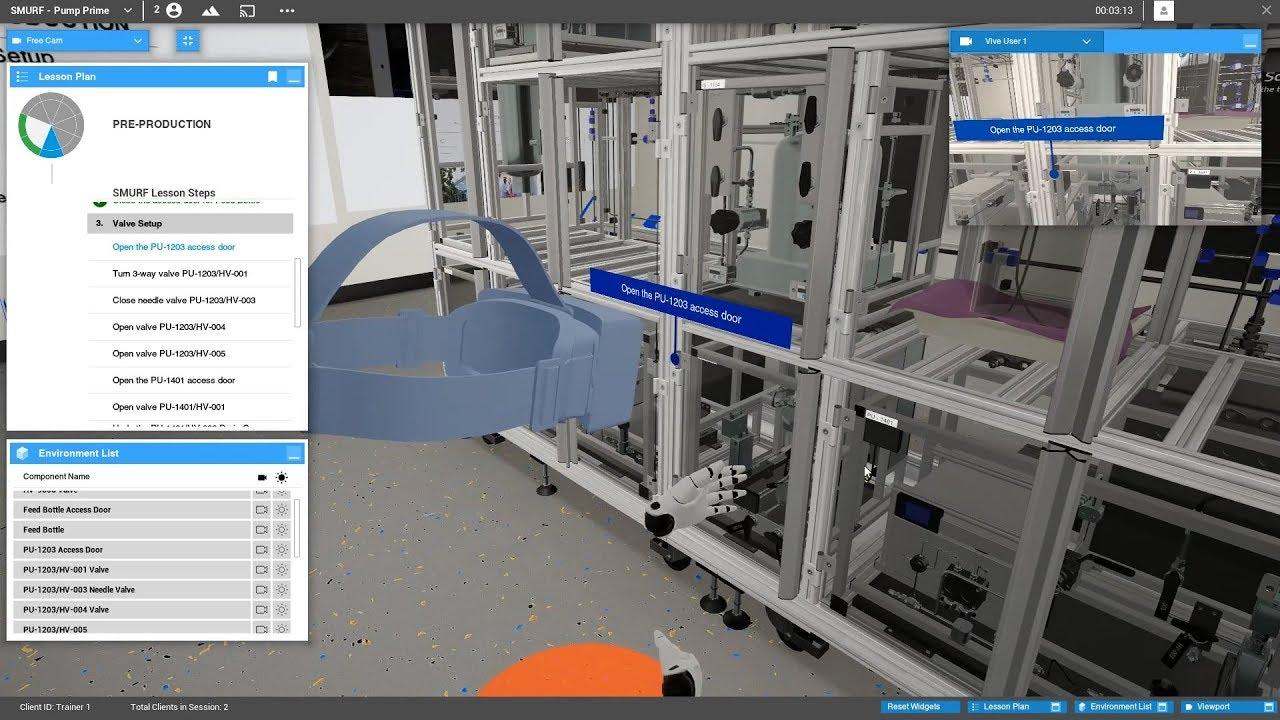 Virtual Trainer - EON Reality
