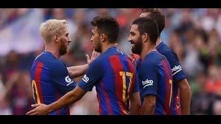 Барселона Севилья 1-0 гол Арды Турана