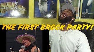Eddie Guerrero & Brock Lesnar Segment Part 1 SmackDown 02.12.2004 -REACTION