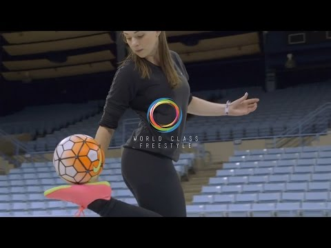 Indi Cowie Freestyle Soccer 2016 - Amazing Female Freestyler (North Carolina, USA)