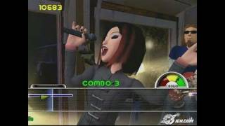 Karaoke Revolution Vol. 2 PlayStation 2 Gameplay -