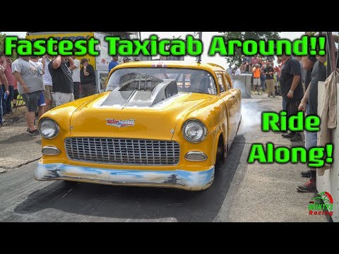 Ride Along With The Fastest Taxicab Around!! Memphis Street Outlaws (4k video)