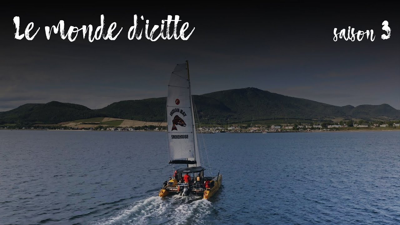 Capitaine Danny Nadeau à l'émission Le Monde d'Icitte