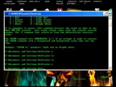 how to open matrix in cmd