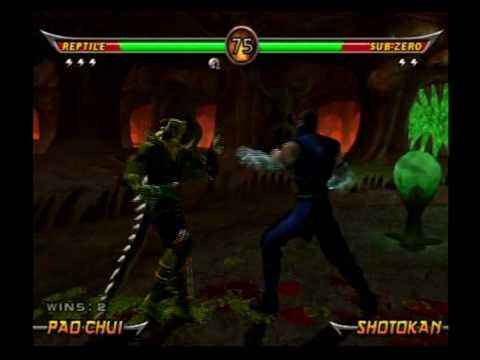 Mortal Kombat Armageddon - Reptile (MK:DA Costume) - 1/2