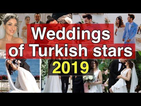 Weddings of Turkish stars 2019