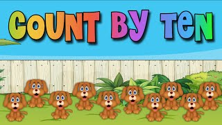 Count By Tens with the Math Dog!
