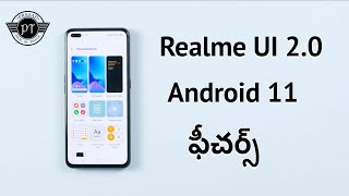 Realme UI 2.0 Android 11 Features On Realme X50 Pro ll in Telugu ll