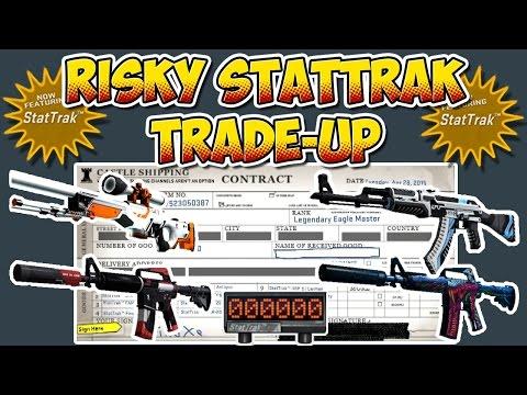 CS:GO - RISKY StatTrak TradeUp - 10x Classified