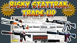 CS:GO - RISKY StatTrak TradeUp - 10x Classified