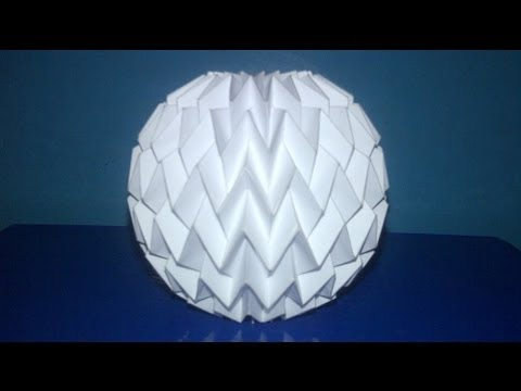 Tutorial 3 - Folding Ball With Pattern Miura (Neospica Neoliveart)