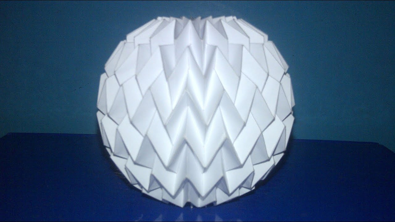 Tutorial 3 - Folding Ball With Pattern Miura (Neospica ... - photo#39