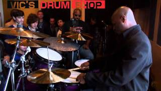 Nathaniel Townsley at Vics Drum Shop - part 2