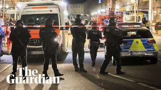 Germany shootings footage shows aftermath of deadly shisha bar attacks