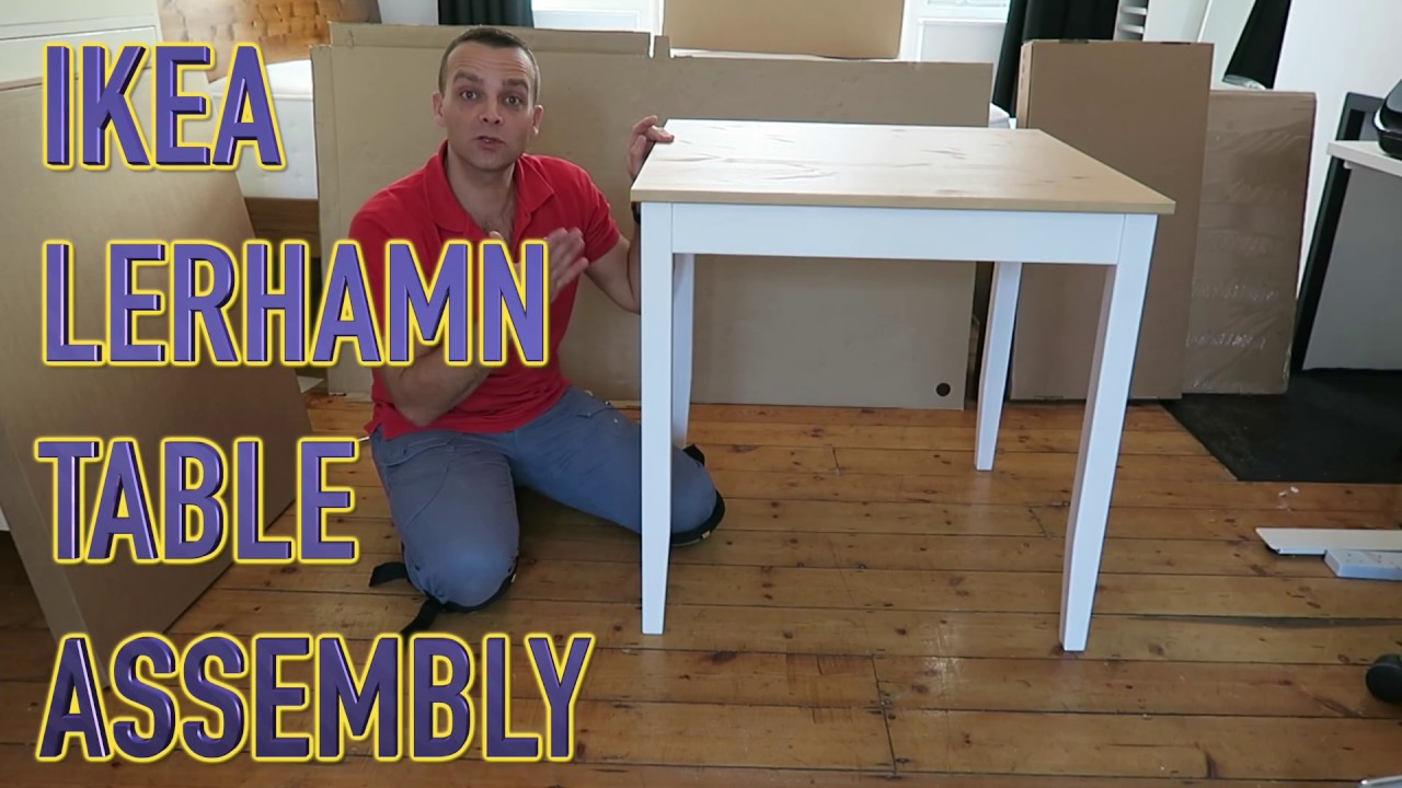 Ikea Lerhamn Table Review