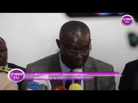 Crd Preparation Senegal/Madagascar discours d ouverture Augustin Senghor