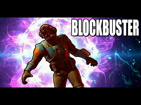 The Blockbuster Skin In Fortnite Battle Royale...