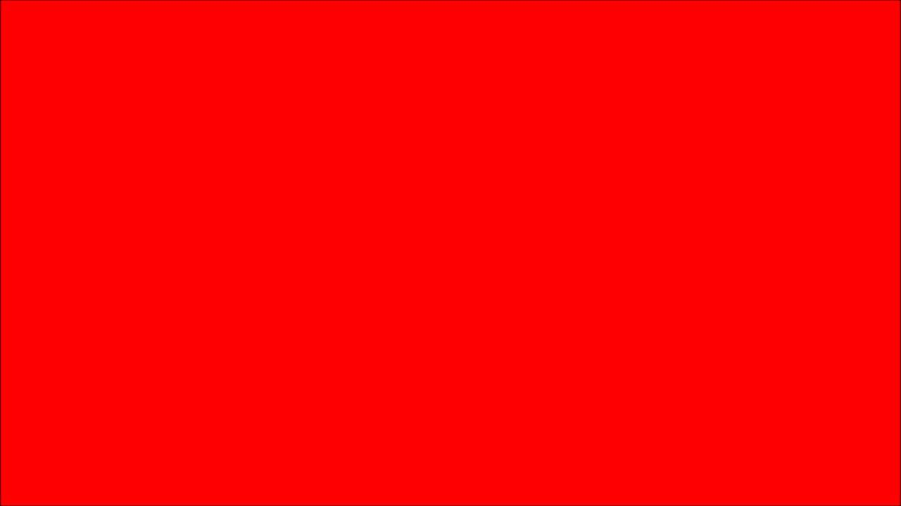 A Blank RED Screen That Lasts 10 Hours In Full HD 2D 3D 4D