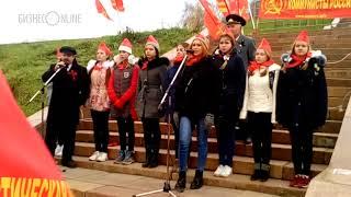 Ленин спел на митинге  Коммунистов России  в Казани