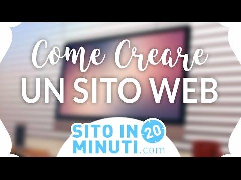 Come Creare un Sito Web Professionale in 20 Minuti