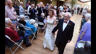 Valentine Wedding at Senior Home