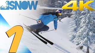 SNOW The Game - Gameplay Walkthrough Part 1 - Gold Medals [4K 60FPS]