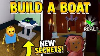 *NEW* HIDDEN UPDATE SECRETS!!🌟| Build a boat for Treasure ROBLOX