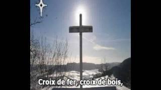 LES CROIX, Edith PIAF (Karaoké)