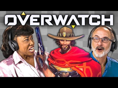 OVERWATCH (Elders React: Gaming)