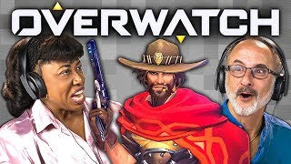 OVERWATCH (Elders React: Gaming)
