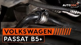 How to replace Brake caliper carrier VW PASSAT Variant (3B5) Tutorial