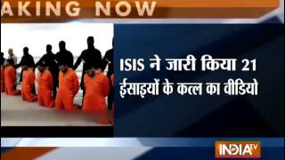 ISIS Video: Mass Beheading of Egyptian Christians - India TV