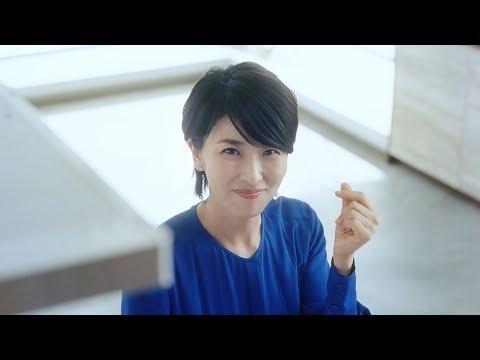 松たか子、さわやか笑顔で指パッチン クリナップ『STEDIA(ステディア)』新CM&メイキング映像