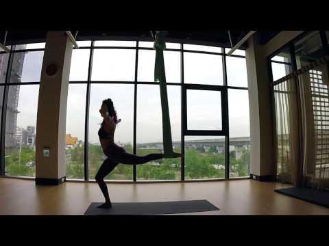 Aerial Yoga Vinyasa