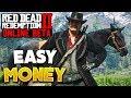 Red Dead Online How To Make Money Easy! Red Dead Redemption 2 Online Money (No Glitch)
