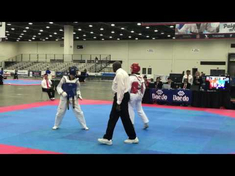Alexius 2017 USAT Taekwondo Nationals ~ First Round