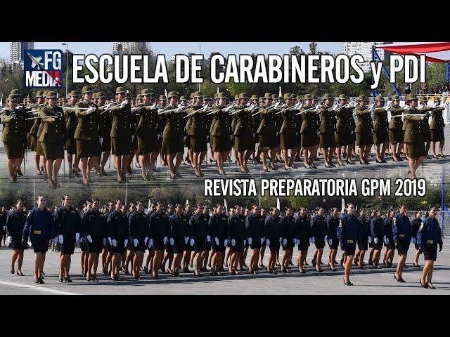 Escuela de Carabineros y Escuela de Investigaciones Policiales en Revista Preparatoria 2019