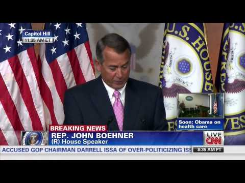 Boehner on Obamacare: 'There is No Way To Fix This'