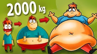 Was wäre, wenn Du 2000 kg Wiegen Würdest?