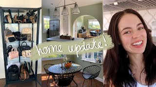 HOME UPDATE VLOG! Projects & Painting w/my Dad♥️