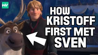 How Did Kristoff Meet Sven? | Frozen Explained: Discovering Disney