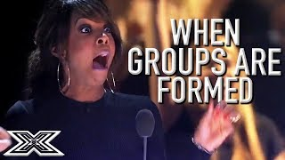 BRILLIANT GROUPS Formed On The X Factor! | X Factor Global