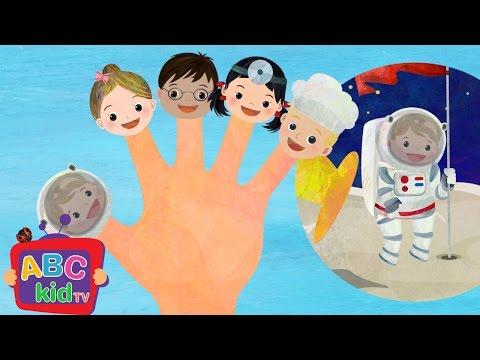 Finger Family - Jobs   Nursery Rhymes & Kids Songs - ABCkidTV