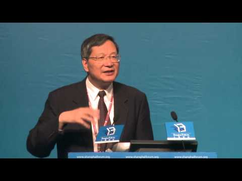 "[2013 Shanghai Forum] FAN Yongmin ""BRICs Cooperation and Asian Diversification"""