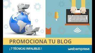Cómo promocionar un Blog (parte 1)