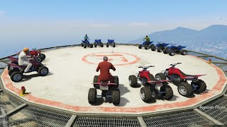 SKY QUAD DESTRUCTION DERBY! (GTA 5 Online)
